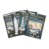 Fascinations Metal Earth MMS063 - 502504, Graf Zeppelin, Konstruktionsspielzeug, 2 Metallplatinen, ab 14 Jahren