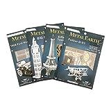 Fascinations Metal Earth MMS078 - 502514, Apollo Lunar Module, Konstruktionsspielzeug, 2 Metallplatinen, ab 14 Jahren