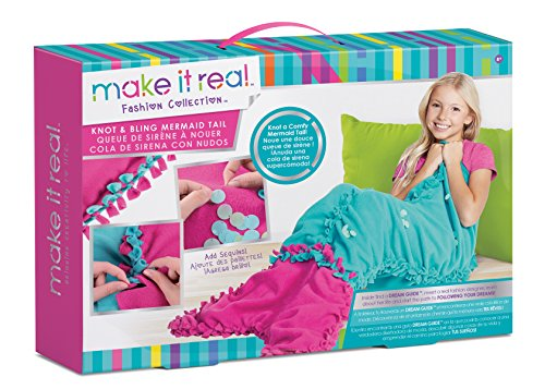 MAKE IT REAL 01503 - Knot und Bling Mermaid Tail, Bastelset