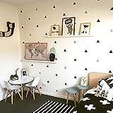 GXLQT Autocollant Mural Bébé Garçon Chambre Triangles Enfants Chambre Décoration Murale Bébé Fille Chambre Sticker Mural pour Enfants Chambre Home Decor Enfants Chambre Papier Peint