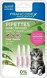 Francodex–Pipetas insectifugas para gato–3x 0,6ml