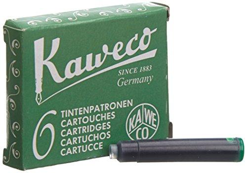 kaweco-cartucce-dinchiostro-brevi-palm-green-verde-6-pezzi