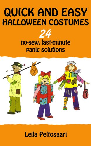 Quick Easy Halloween Costumes 24 No Sew Last Minute Panic Solutions Ebook Leila Peltosaari Amazon In Kindle Store