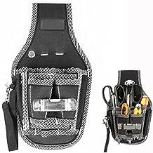 Itian Electricistas Bolsillo Cinturón de Herramientas de Bolsillo de Cintura Destornillador Soporte de Asas