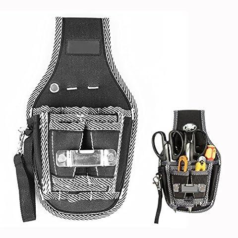 Itian Électriciens Waist Pocket Belt Tool Pouch Sac tournevis Carry Case Holder