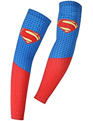 Spoz Pro Outdoor Sport Super Hero Breathable Arm Sleeves Armlinge