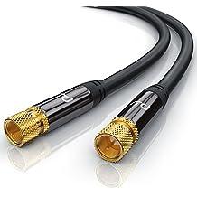 Premium 2,0m cavo per antenna / SAT / Cavo per
