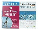 Ménophytea Silhouette Rétention d'Eau Femme 45 Ans + Lot de 2 x 30 Comprimés