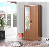 Stylespa Eon 2 Door Wardrobe (Boston Walnut)