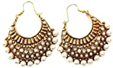 Hyderabad Jewels Fashion Earring Rounded...