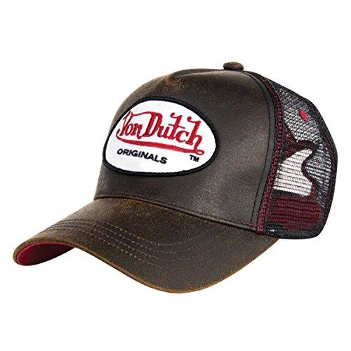 dutch-von-og-brown-trucker-cap-gorra-estilo-marron-talla-unica