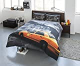 Pieridae New York NY Montage Taxi Yellow Cab Duvet Bed Quilt Cover Set (Single)