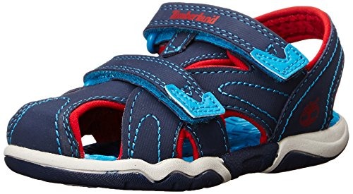 Timberland Active Casual Sandal FTK_Adventure Seeker Closed Toe Sandal, Unisex-Kinder Sandalen, Blau (BLUE), 27 EU