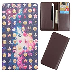DooDa - For Lenovo A2010 PU Leather Designer Fashionable Fancy Case Cover Pouch With Card & Cash Slots & Smooth Inner Velvet