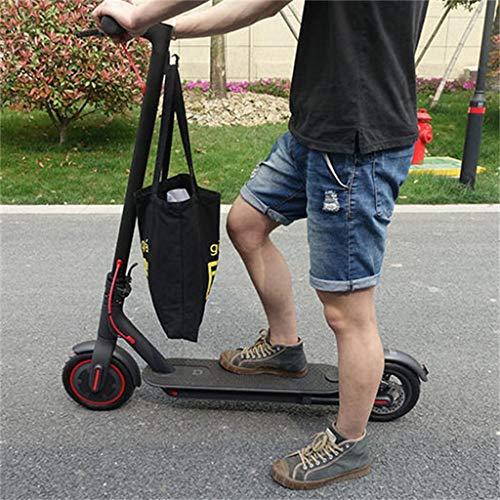 Hunpta@ Crochet pour Sac Xiaomi M365,Crochet en Métal - pour Xiaomi Trottinette Électrique Mixte Adulte, vélos Accessoires (Noir)