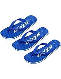 aac02e504f31d IndiWeaves Stylish Comfortable Flip Flop House Slippers for Men(Pack of 3  Pairs)