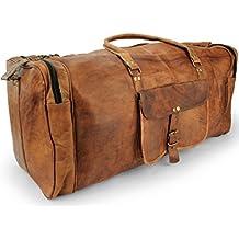 Accessori in pelle da viaggio, l'Università, la borsa sportiva per la macchina fotografica, diario, borsa da viaggio