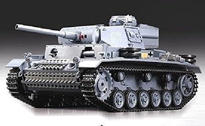 """RC Panzer """"Kampfwagen III"""" 1:16 Heng Long -Rauch&Sound - mit 2,4Ghz Fernsteuerung von Heng Long"""
