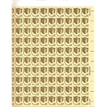 To Cast a Free Ballot Democracy Sheet of 100 x 3 Cent US Postage Stamps Scott 1584 by USPS