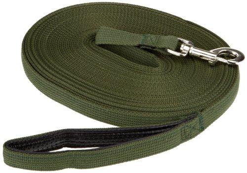 Artikelbild: Trixie 19924 Schleppleine, Gurtband 15 m/20 mm, grün