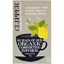 Clipper Organic Chamomile & Lemon Balm with Manuka Honey Infusion 20 bags