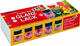 HOBBY LINE 79900 - Acryl-Glanzlack Creativ Set XXL  5 x 50 ml