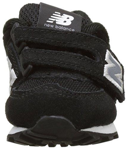 New Balance Kv574cui M Hook and Loop, Scarpe da Ginnastica Basse Unisex – Bambini Nero (Black)