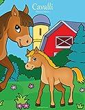 Cavalli Libro da Colorare 1: Volume 1