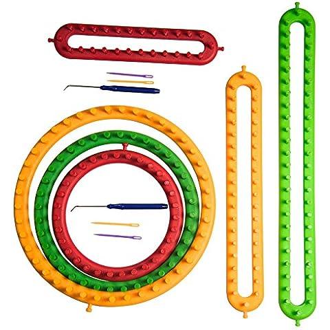 Long Loom e rotonde Loom Kit fai da te