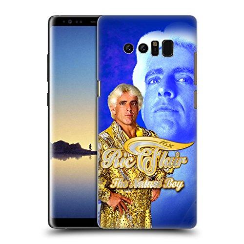 Offizielle WWE Goldene Robe Ric Flair Ruckseite Hülle für Samsung Galaxy Note8 / Note (Flair Robe Ric)