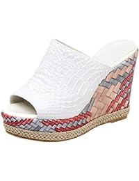 san francisco 5b238 e1920 Suchergebnis auf Amazon.de für: weiße high heels - AIYOUMEI ...