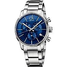 Calvin Klein Reloj de Cuarzo para Hombre con Correa de Acero Inoxidable Chapado – K2G2714N