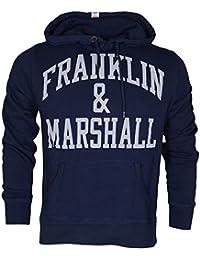 Franklin & Marshall Herren Sweatshirt Flmva089xmw16