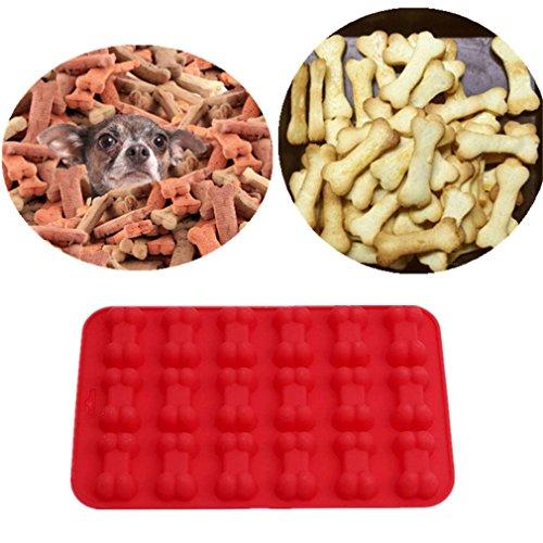 ODN Hundekuchen Hundeknochen Kuchenform 18 Loch Backformen für Kinder, Haustiere, Hundeliebhaber