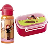 Sigikid 2er Set 24475 24489 Brotzeitbox Pony Sue + Trinkflasche Pony Sue