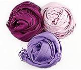#7: Sri Belha Fashions Large Soft Silky Pashmina Shawl Wrap Scarf in Solid Colors