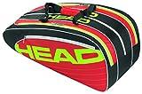 HEAD Schlägertasche Elite Combi, Schwarz, 75 x 32.5 x 30.5 cm, 55 Liter, 283414-bkrd