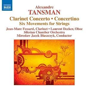 Tansman: Clarinet Concerto
