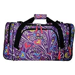 Bolsa de viaje equipaje de mano bolsa de deporte (5520 Corazon)
