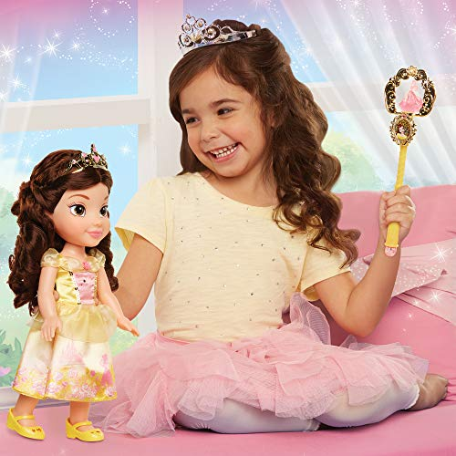 Disney Princess 84307 Belle Toddler Doll and Accessories Puppe, Multi (Outfits Toddler Disney)