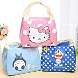 Clickus Fabric Portable Thermal Insulated Lunch Bag