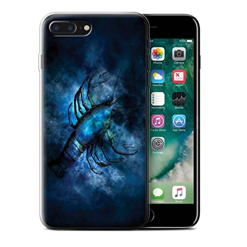 Stuff4 Gel TPU Hülle / Case für Apple iPhone 8 Plus / Löwe/Leo Muster / Tierkreis Star Schild Kollektion Krebs/Krabbe