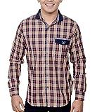 Ivory Men's Casual Cotton Shirt (2937-Ru...