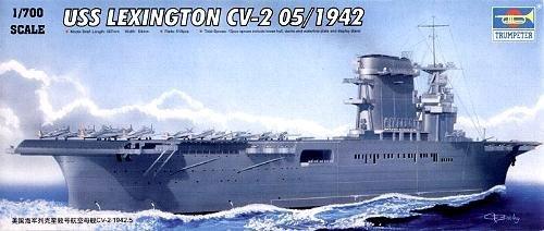 trumpeter-1-700-uss-cv2-lexington-05716