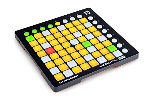 Novation Launchpad Mini Kompakter USB Grid Controller für Ableton Live, MK2 Version (Rack Light)