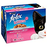 Felix Kitten Up To 1 Year Selection In Jelly 12X100
