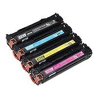 """""""حبر ليزر من ايه سي او  -HP 125A - متعدد الالوان-  اتش بي HP Color LaserJet  CM1300/CM1312/CP1210/CP1215/CP1515n/CP1518ni-معدل الطباعة : 2200 ورقة اسود / 1400 ورقة ملون"""""""