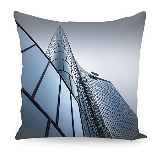 artboxone-kissen-40x40-cm-geometrie-stdte-stdte-wien-architektur-omv-headquarter-wien-grau-beidseiti