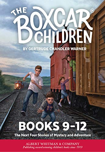 The Boxcar Children Mysteries Boxed Set #9-12 (English Edition)