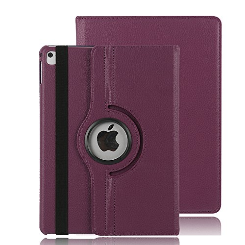 iPad Air hülle Case, Avril Tian 360 Grad drehbar Multi Winkel Bildschirm Schutz FLIP Folio Stand Smart Schutzhülle für Apple iPad Air 9.7 inch Tablet (Ipad Folios)